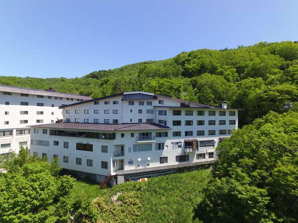 ホテル東舘の外観
