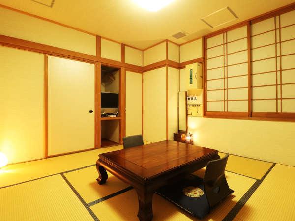 【和室8畳】当館一番人気の客室です。ゆったりとお過ごしいただけます。