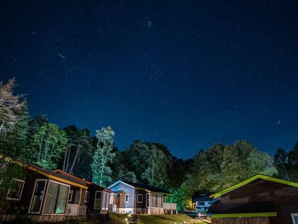【2021年8月OPEN!】個室露天風呂付プレミアムヴィラ:晴れた日にはきれいな星空を眺めることが出来ます。