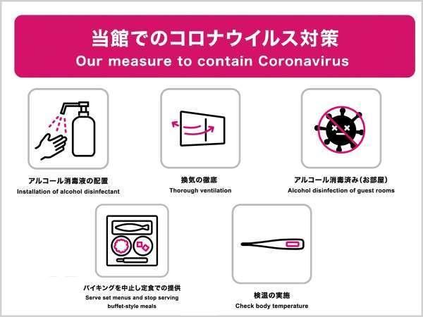 【当館より】コロナウイルス対策について