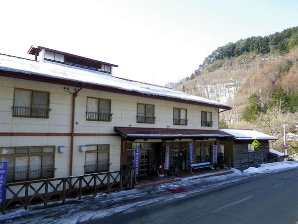 くるみ沢旅館の外観