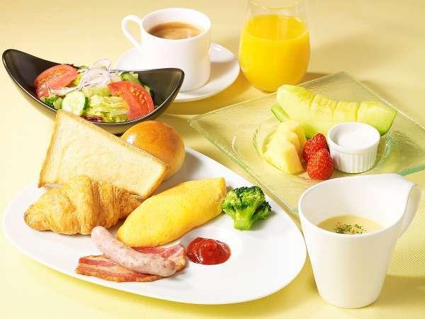 「カフェレストラン24」こだわり食材の朝食付きプラン