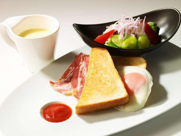 【空港・新幹線利用前泊におすすめ!】早朝「カフェレストラン24」朝食付きプラン