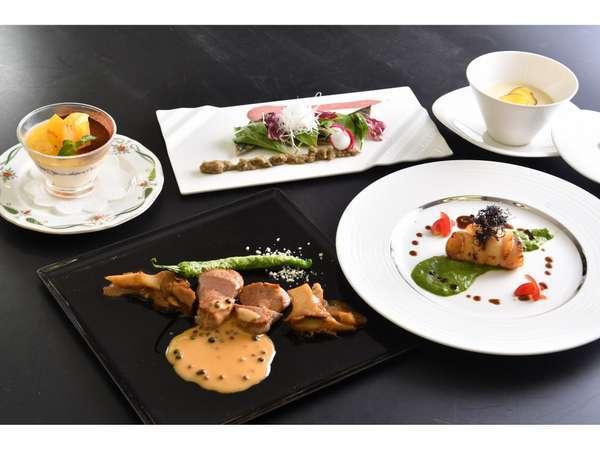 【一番人気】 旬の食材コース料理 スタンダード1泊2食フレンチプラン