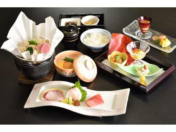 【一番人気】 旬の食材コース料理 スタンダード1泊2食和食会席プラン