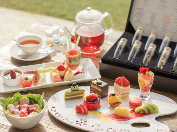 春の訪れをアフタヌーンティーで優雅な午後のひとときを♪ 室料のみ【温泉&スパ付き】