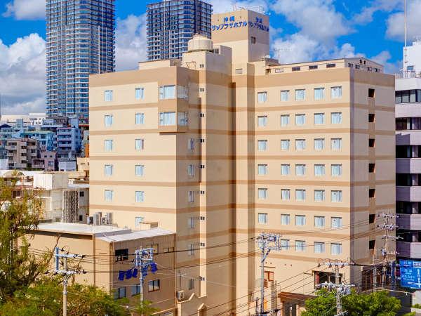 サンプラザホテルの外観
