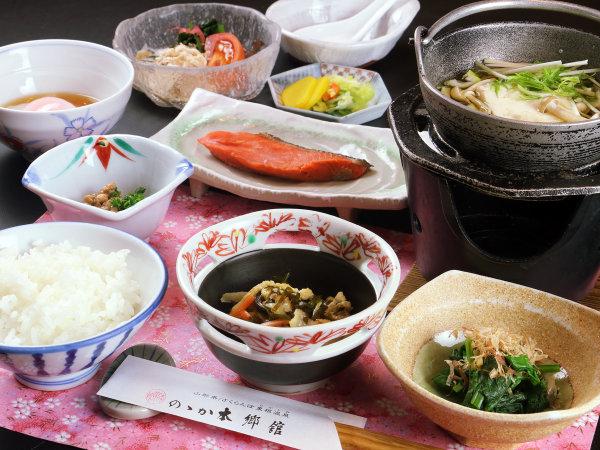 一日の始まりは美味しい和食で♪