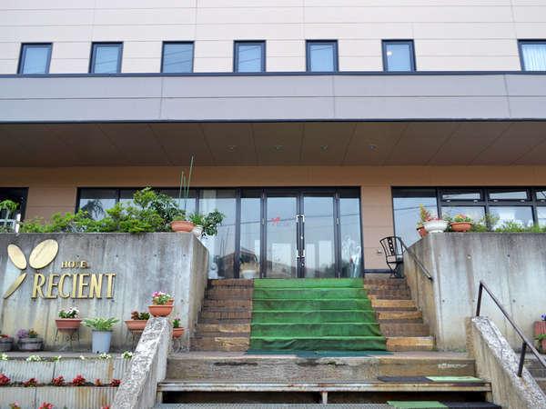 戸狩温泉 ホテルレシェントの外観