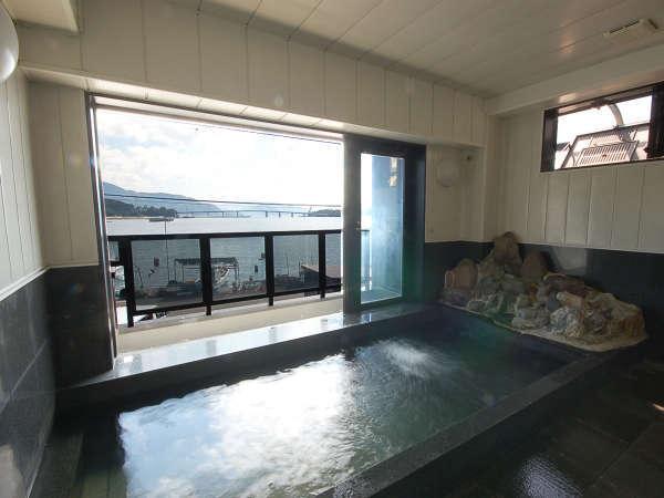■男性用展望風呂■若狭湾を一望!のんびり海を眺めて、1日の疲れをお取り下さい
