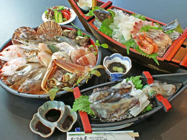 ■海鮮炭火焼■若狭の新鮮な海の幸を豪快に炭で焼いて食べる!素材の美味しさをそのまま味わう贅沢♪