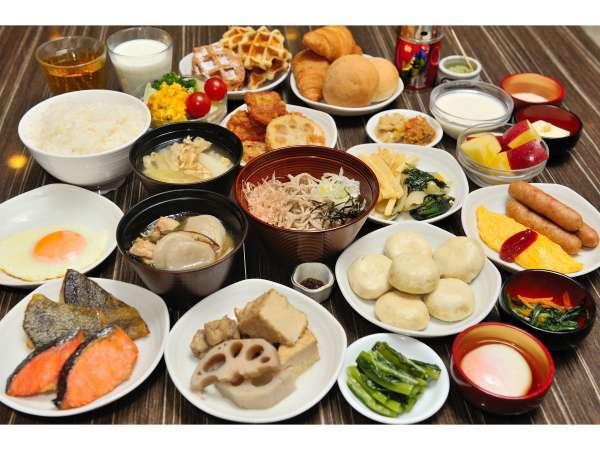 朝食(信州ご当地メニュー) 写真提供:じゃらんnet