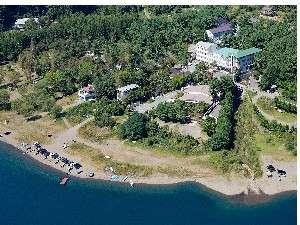 レイクホテル西湖の外観
