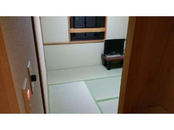 素泊まり♪ 和室シングルルーム4.5畳(1人用)当ホテル最低価格。