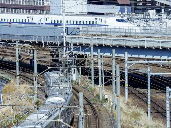 【電車大好きトレインビュー確約・室数限定】新幹線・あおなみ線・JR・近鉄etc…が一望できるお部屋確約!