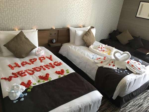 ☆★誕生日・結婚記念日などお祝いに★☆1日1室限定♪きらきらデコレーションルーム♪