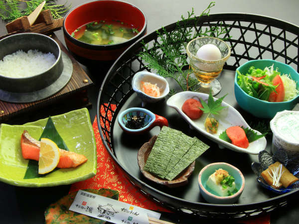 【朝にいいこと♪】朝食から始めるえびのの朝♪ヘルシー朝食プラン