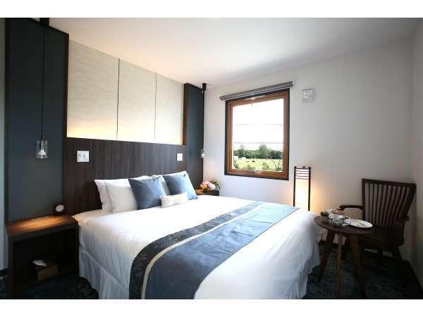主寝室:クイーンベット×1台全部屋冷暖房完備