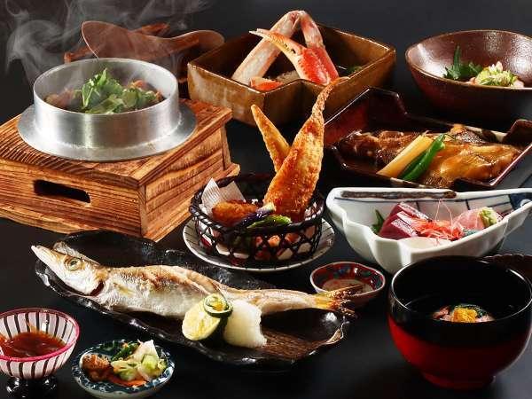 【1階にある日本料理 海風亭】<海の膳コース>グレードアッププラン