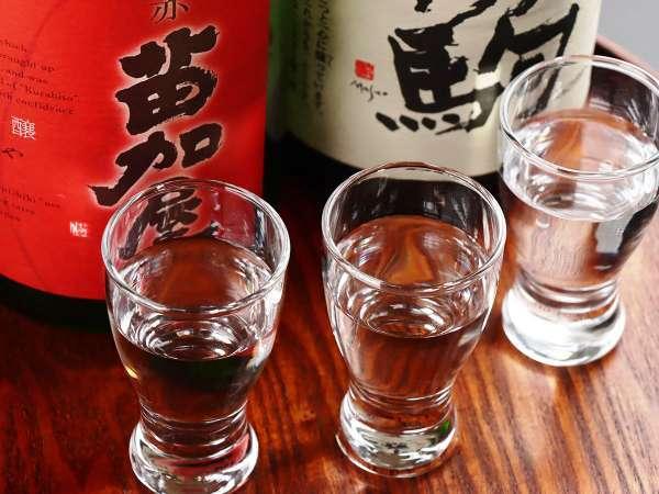 【地酒】飲み比べ 3種