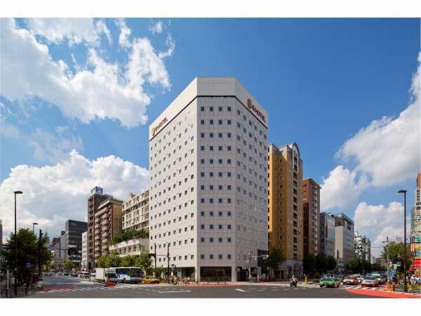 イーホテル東新宿の外観