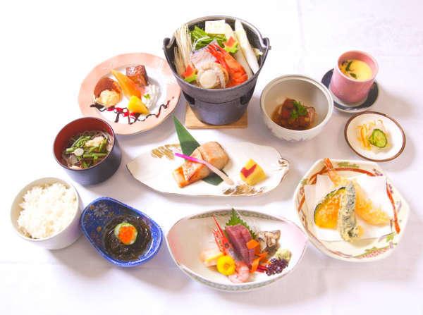 十勝産になるべくこだわり厳選した食材を使用した和食膳です。