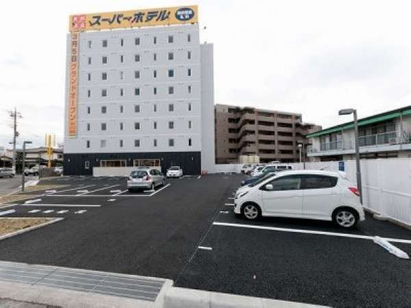 ★ひろびろ無料駐車場100台完備★