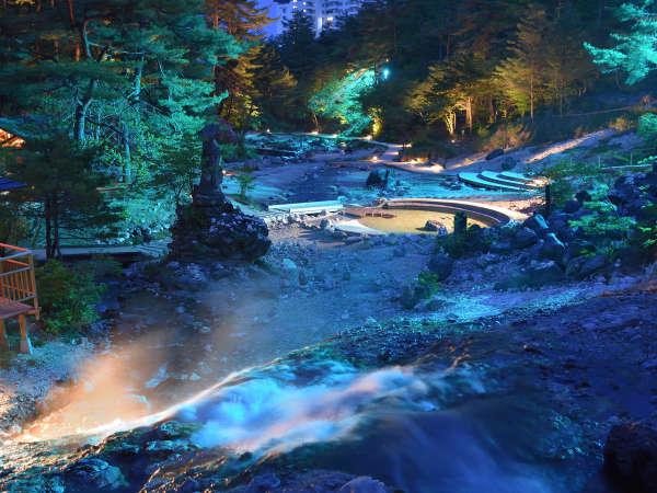 【じゃらん限定】西の河原露天風呂入浴チケット付 奈良屋の白旗源泉と広大な露天風呂で温泉三昧
