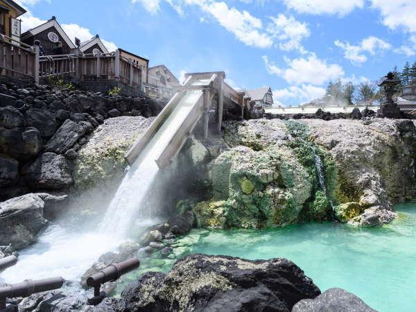 【サマープラン】涼しい夏を草津温泉で〈西の河原露天風呂or御座之湯入浴券付き〉