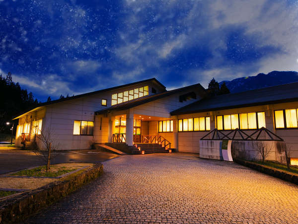 【九頭竜温泉ホテルフレアール和泉】白山連峰に抱かれた星降る宿の外観