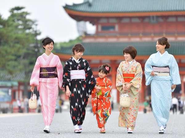 ☆じゃらん限定☆旅館の元若女将がレクチャー!『京都で着物を一人で着れる女になる♪』京町屋体験プラン