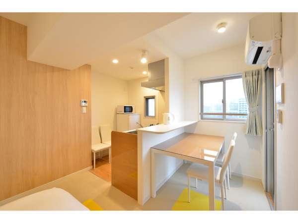 【天神・博多アクセス良好◎】キッチン/バルコニー完備の好立地新築レジデンスホテル!