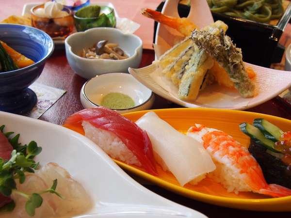 【2食付】プラン 1Fレストラン「みもざ」にて 選べる夕食&食べ放題朝食バイキング!