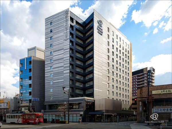 富山駅南口から徒歩3分の好立地。バス・トイレセミセパレートのホテルです!