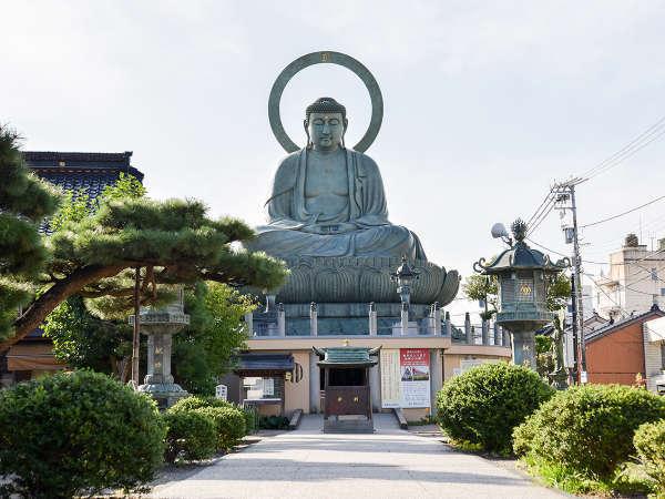 *周辺情報;【高岡大仏】奈良、鎌倉とならぶ日本三大仏のひとつ