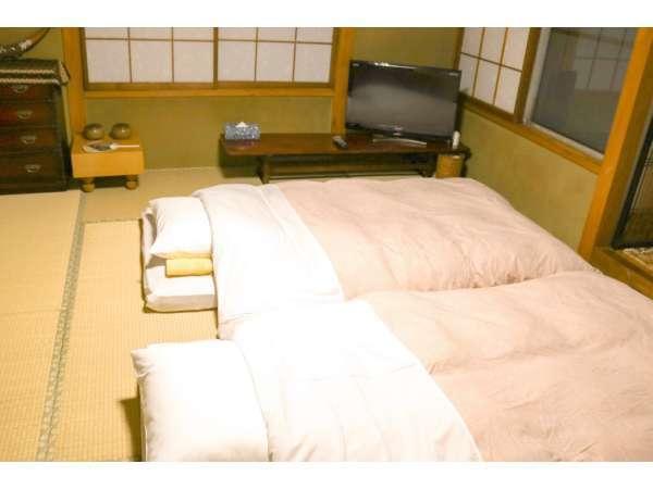 【 和室 】寝具(マットレス・布団)は、特にこだわっています♪体感ください。