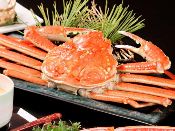 平日限定《茹でずわい蟹まるごと一杯付けちゃいます》 ずわい蟹1杯+和定食〜なぎさ〜