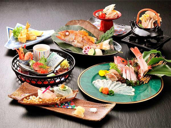 【北陸の2つの味覚を堪能!】「のどぐろ」と「能登ふぐ」の秋会席 今季だけの特別料理です♪
