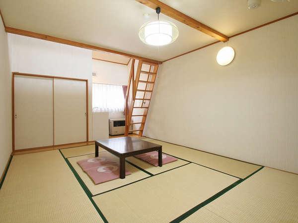 *客室一例/お部屋は全て和室11畳+ロフト8畳付ででゆったり広々♪