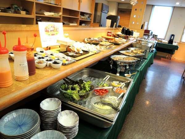 【朝食付きプラン】こだわり食材の朝食バイキング 6時30分から☆繁華街至近の街ナカホテル