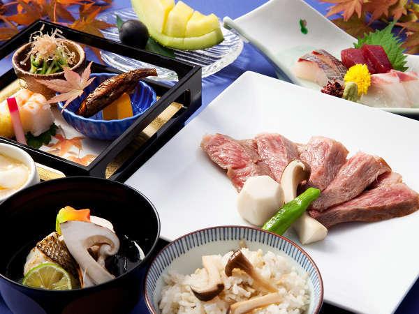 滋賀の美味を堪能!!「近江牛ステーキ会席」付きプラン(夕朝食付き)