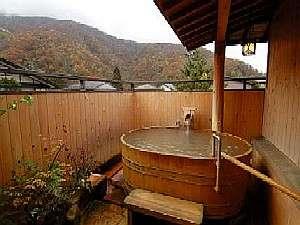 貸切露天風呂からは奥飛騨の自然を満喫できます。(無料)