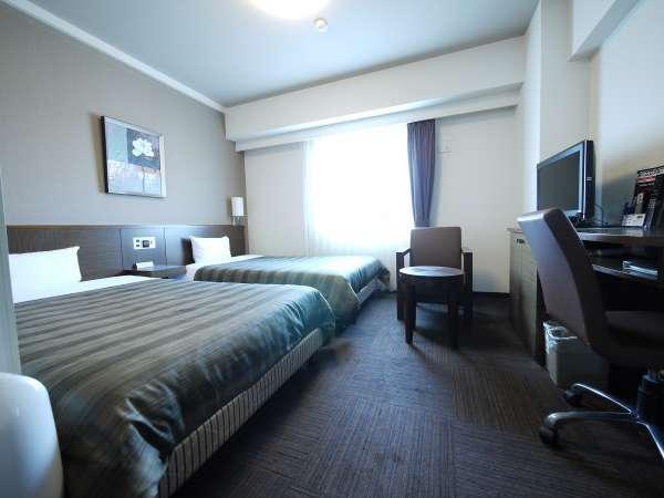 ツインルーム 120cm幅のベッド2台
