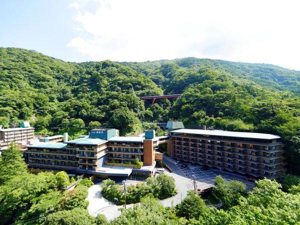 ホテル南風荘の外観