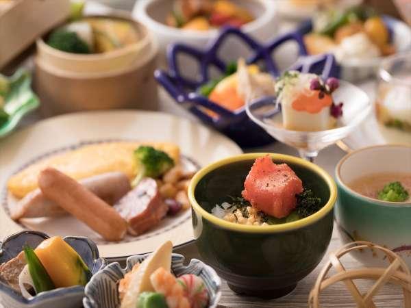 【朝食リニューアル!】和・洋の朝食ブッフェ付きプラン