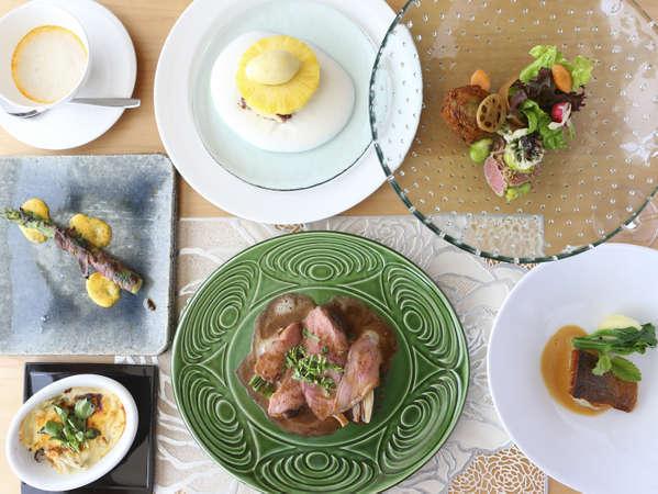 【2食付 フレンチ】信州の旬を味わう本格フランス料理<Rosee>のフルコース