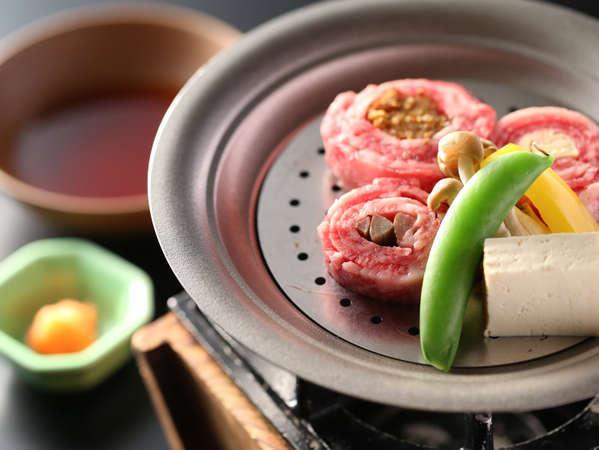 【スタンダードプラン】信州牛の旨みをギュッ 姉妹館「よろづや」で<雅の料理>を愉しむ