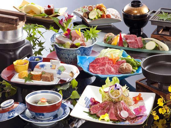 松阪牛が満喫できる会席料理の一例