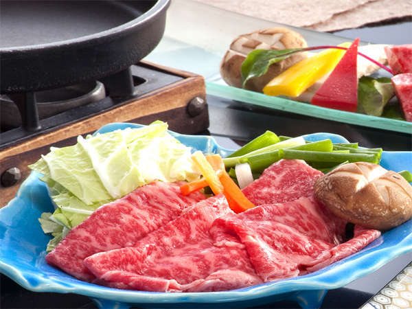 特選松阪牛のすき鍋イメージ