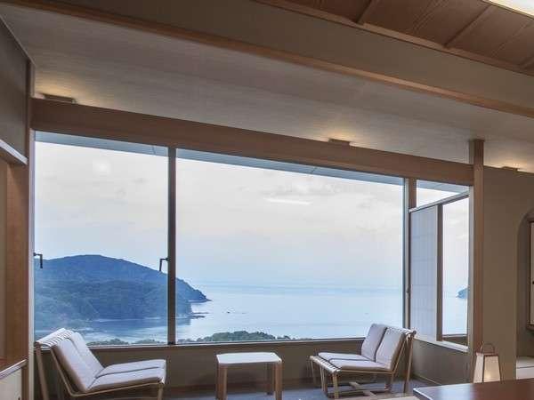 お部屋からの海景
